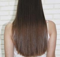 Кератиновое выпрямление волос в домашних условиях - Салоны красоты «ДеЛарош»
